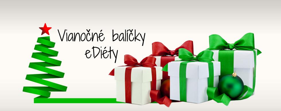 Vianočné balíčky ediéty